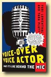 VO Voice Actor book by Yuri Lowenthal & Tara Platt